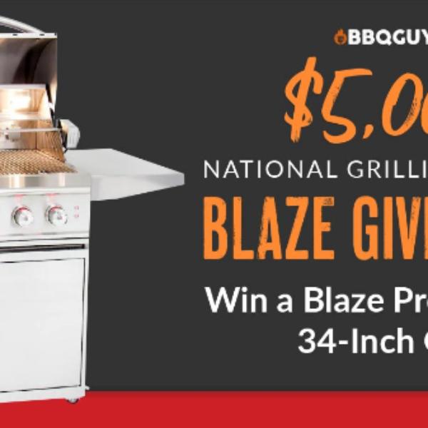 BBQ Guys: Win a $5,500 Blaze professional gas grill