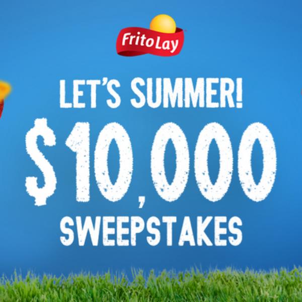 Tasty Rewards Let's Summer: Win $10,000