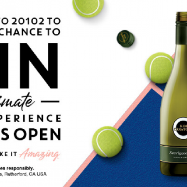 Kim Crawford: Win $10,000 or a Trip to the US Open