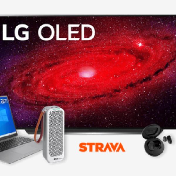 """LG: Win a 77"""" LG OLED TV"""