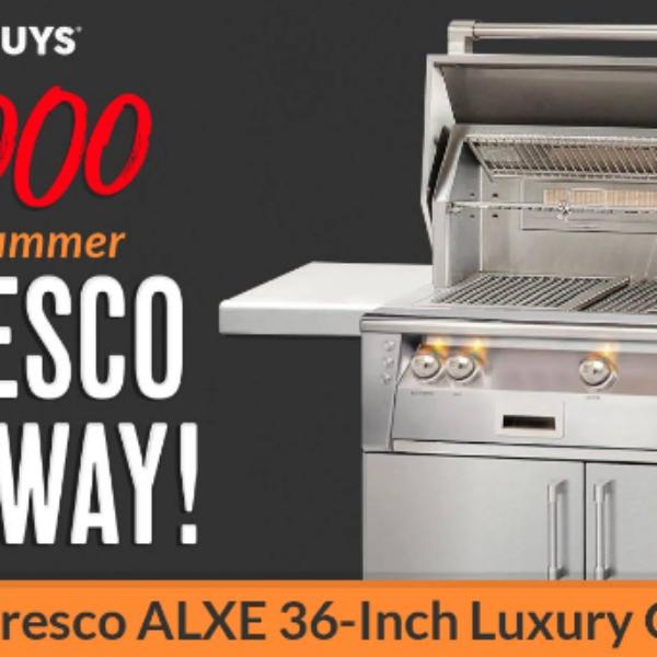 BBQ Guys: Win a $7,000 Alfresco Luxury Gas Grill