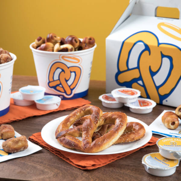 Auntie Anne: Win $1,200, Gift Cards, a Blanket, Pillow, and Socks