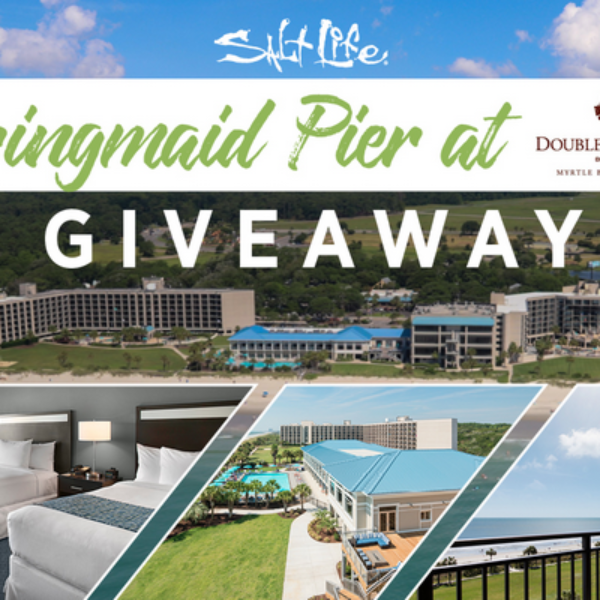 Salt Life: Win a 3 night stay in Myrtle Beach, a $250 Salt Life gift card , sunglasses, and more