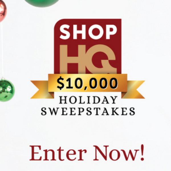 ShopHQ Holiday Sweepstakes: Win a $10,000 Shopping Spree