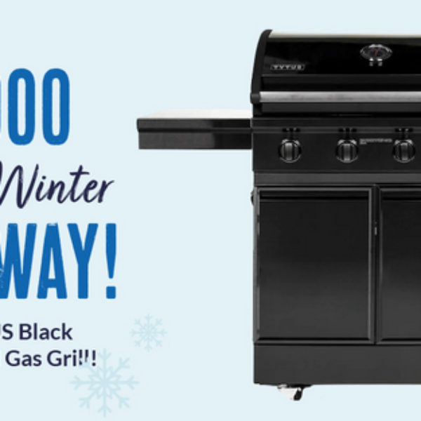 BBQGuys: Win a TYTUS Black Stainless Steel Gas Grill worth over $1,000