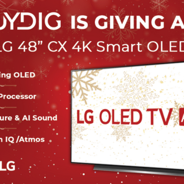 BuyDig: Win a LG 48″ CX 4K Smart OLED TV with AI ThinQ