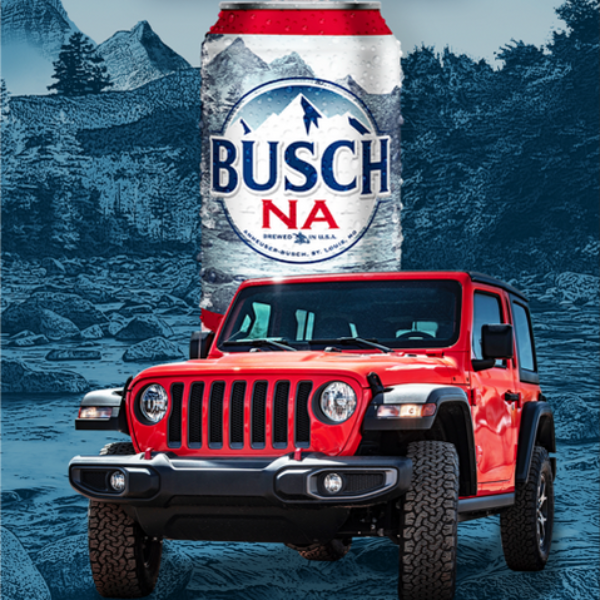 Busch: Win a 2020 Jeep valued at $39,500