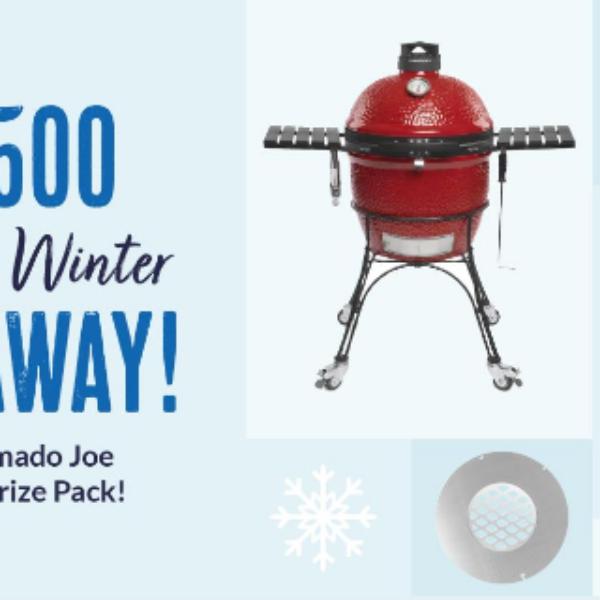 BBQGuys: Win a Kamado Joe Classic II Grill and More
