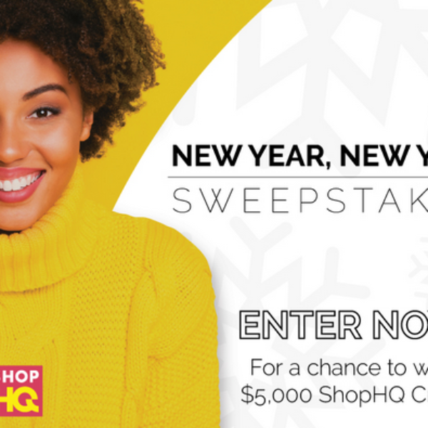 ShopHQ's New Year, New You: Win a $5,000 Shopping Spree