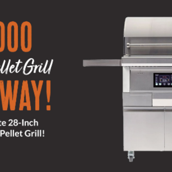 BBQGuys: Win a Coyote pellet grill valued at $3,000