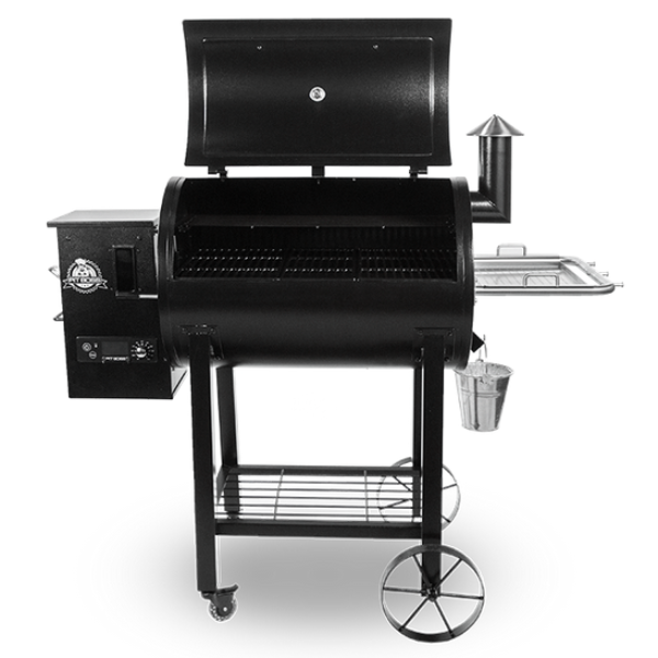 Win a Pit Boss pellet grill, wood pellets for a year, Omaha Steaks, koozies, and sunglasses