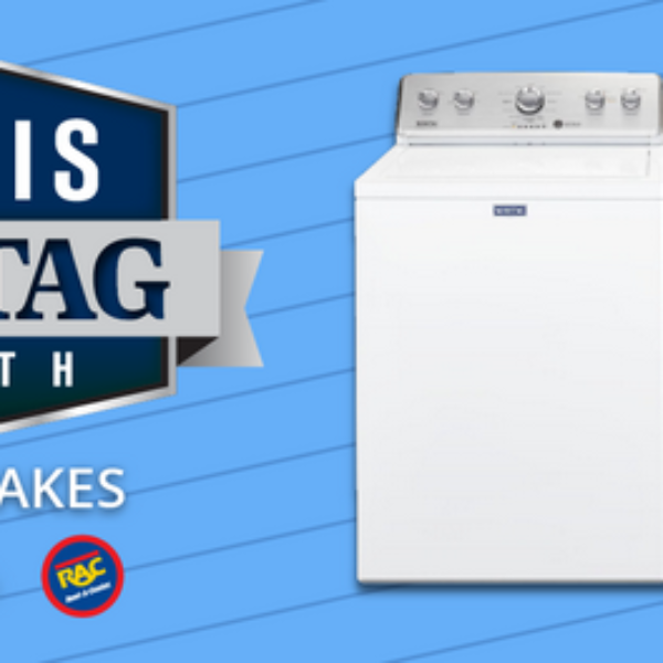 May is Maytag Month: Win a Washer and Dryer set valued at $1,448