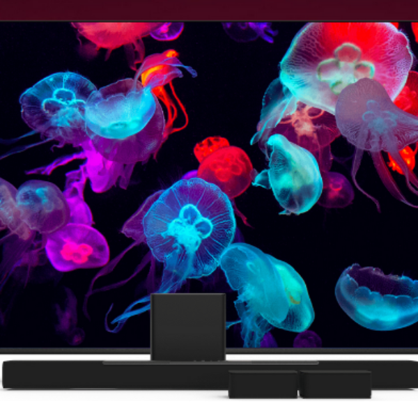 Tune In To Win: Win a 65″ 4K Smart TV and Home Theater Sound Bar