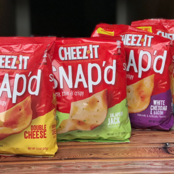 Cheez-It : Win $10,000 and a year's supply of Snacks