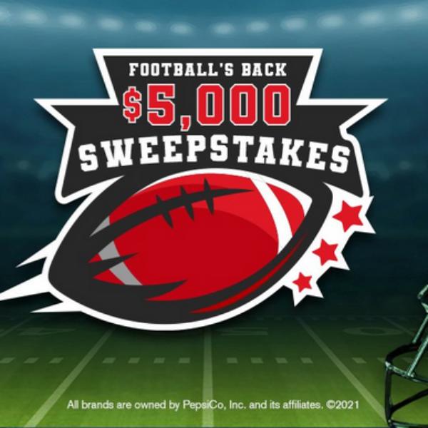 Tasty Rewards Football's Back: Win $5,000