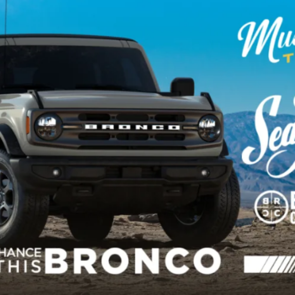 Sea Foam: Win a 2021 Ford Bronco Big Bend Edition valued at $40,000