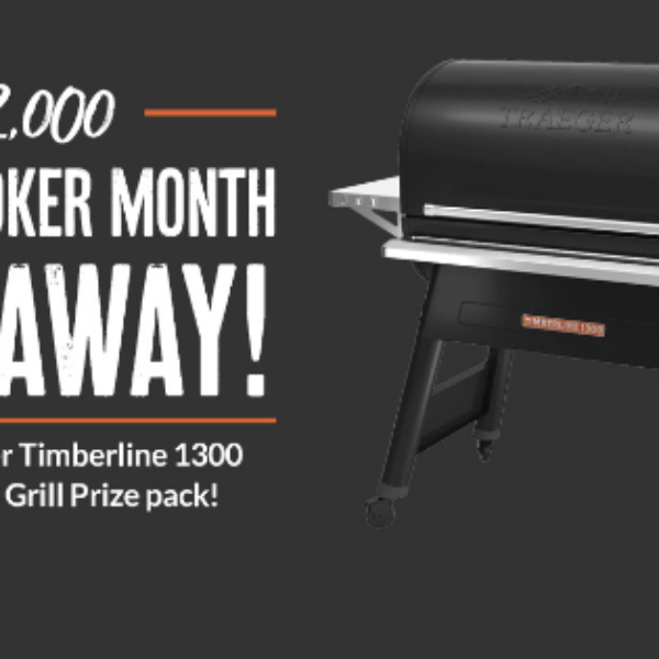 BBQ Guys: Win a Traeger Timberline 1300 WiFi Pellet Grill valued at $2,000