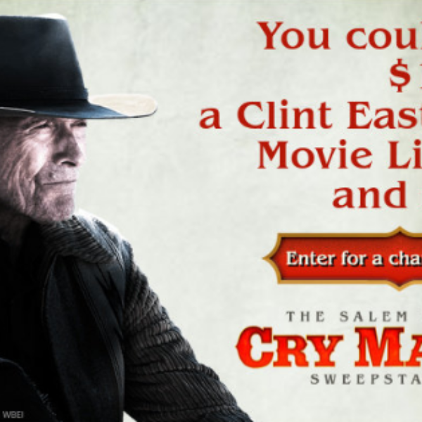 Salem Radio: Win $1,000, a Suede Jacket, a Clint Eastwood DVD Box Set and More